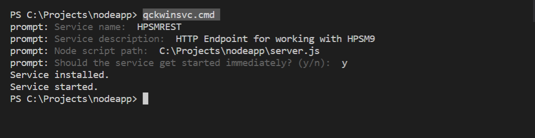 SOAP TO REST USING POWERSHELL AND NODE JS – Microservice – Chen V